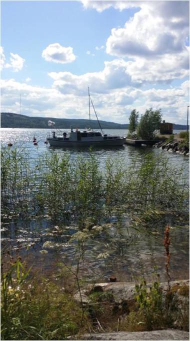 Vesijärvellä on pari mukavaa pikkusaarta, missä voi nauttia kesäpäivästä.