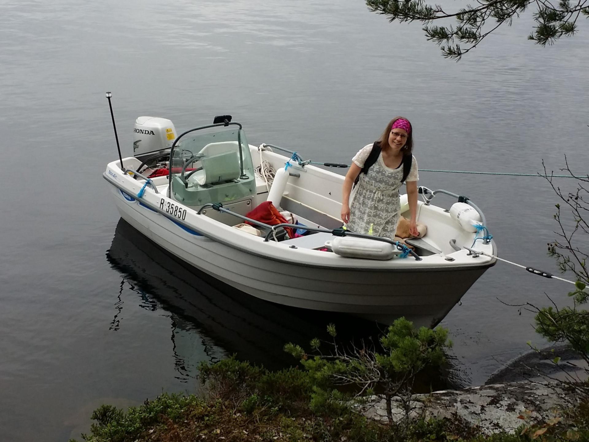 Veneillessä tutustuu luontoon