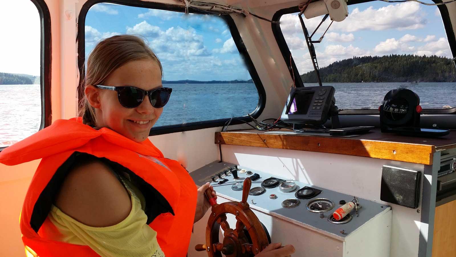 Veneen ohjaaminen on tärkeä taito